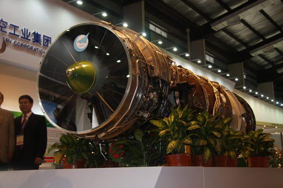 资料图:国产太行涡轮风扇发动机