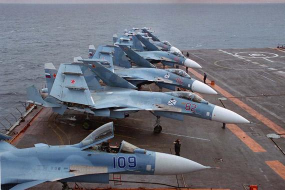 空军世界 :: 苏联/俄罗斯海军 苏-33 舰载战斗机