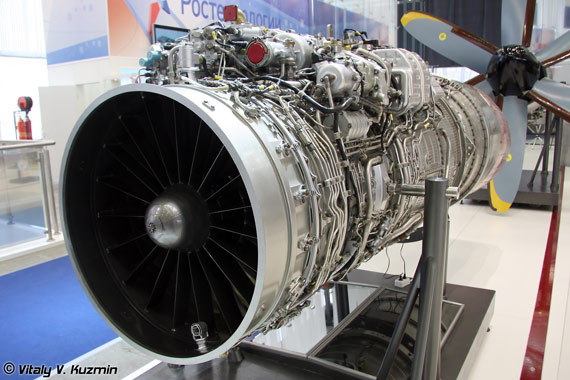 RD-33MK发动机,该型发动机的中国型号称为RD-33