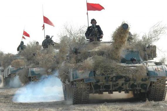 文章称中国坦克收益主要来自于中巴MBT2000哈利德项目