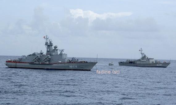 越南海军装备的最新型毒蜘蛛级导弹快艇