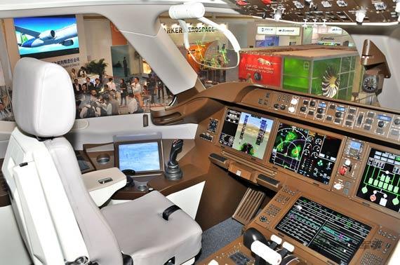 C919客机驾驶舱 新浪特约摄影:冰凉