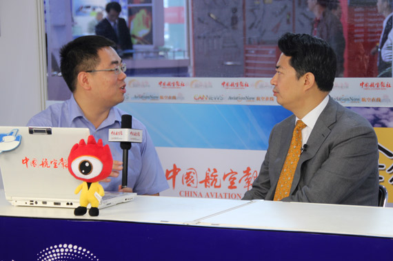 Embraer Vice President, Greater China, Mr. Yuan, president of the Kanto interview
