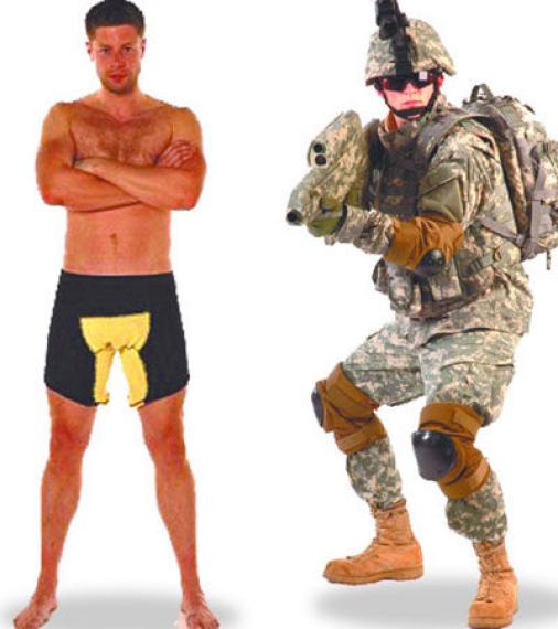 英国一家厂商推出了防爆内裤意图吸引驻阿英军女家属购买。