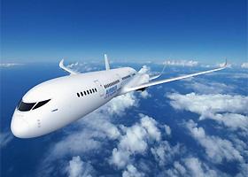 空客范堡罗航展上发布40年后概念飞机