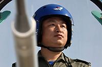 八一表演队飞行大队长曹振忠少校