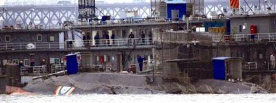 中国潜艇制造工厂。