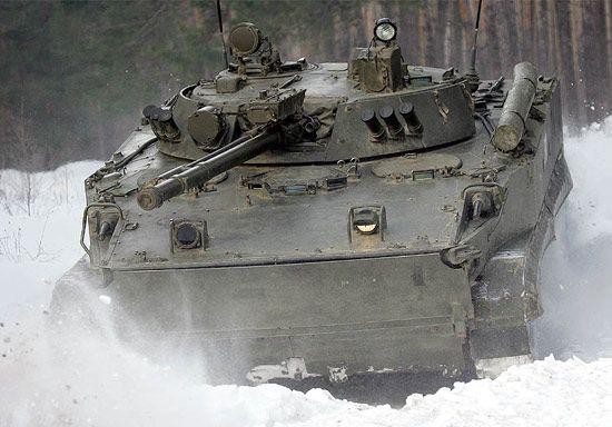 资料图:俄制BMP-3型步兵战车