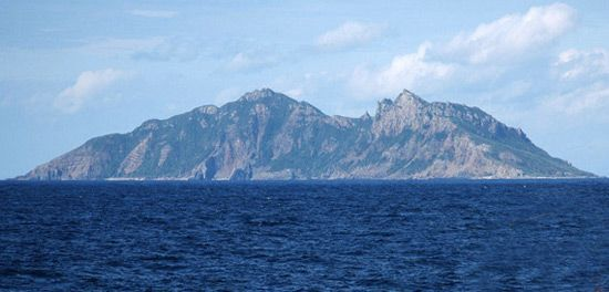 data: Diaoyu Islands