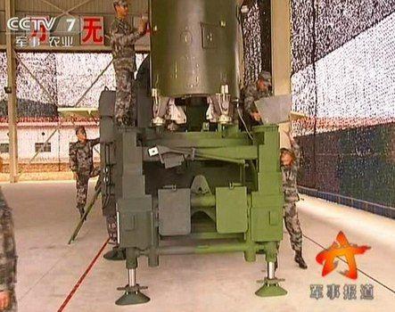 俄媒称解放军新型战役战术导弹亮相央视(图)