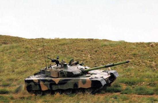 资料图:中国VT1A型坦克。