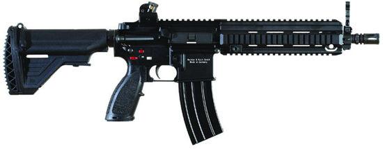 资料图:近距离作战型HK416卡宾枪