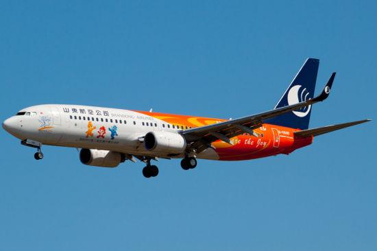山东航空B737-800客机资料图