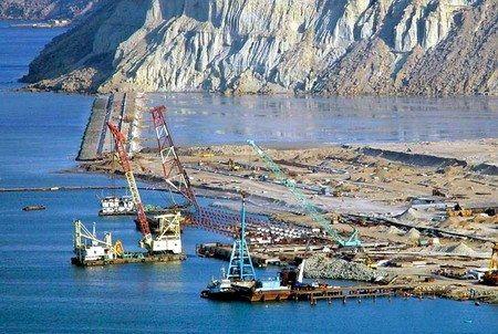 资料图:建设中的巴基斯坦瓜达尔港