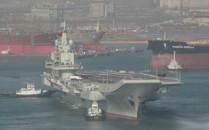 日媒体称中国航母将对日领土完整构成严重威胁