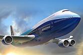747-8客机飞行示意图