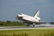 阿特兰蒂斯号航天飞机安全降落