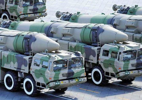 中国东风-21D弹道导弹
