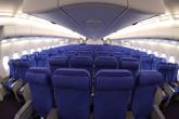 南航首架A380经济舱