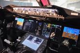 波音787驾驶舱特写