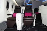 波音787梦想客机前舱