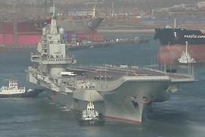 我国首艘航母平台11月29日再次出海开展相关科研试验