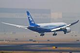 波音787首次降落中国