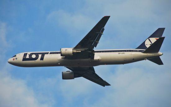 资料图:波兰航空波音767客机