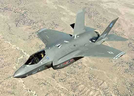 洛马公司的F35战机