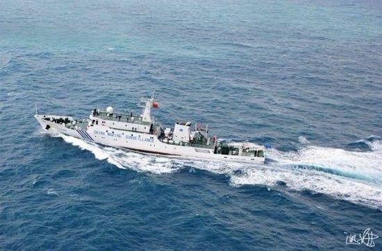 日称中国海监66船在冲绳附近警告日测量船