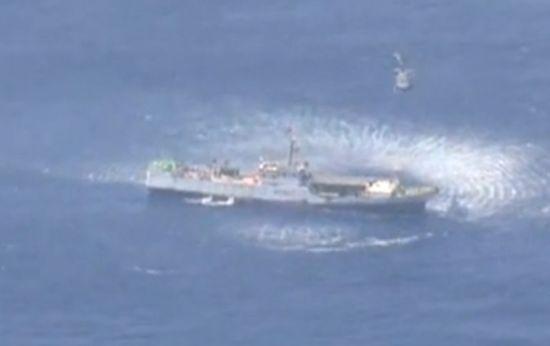 远距离水上救援正是129救援队的一个突出本领