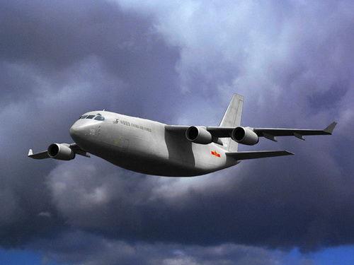 我国大飞机想像图