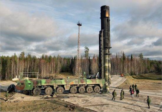 继承了苏联核武库的俄罗斯核力量拥有强大的力量