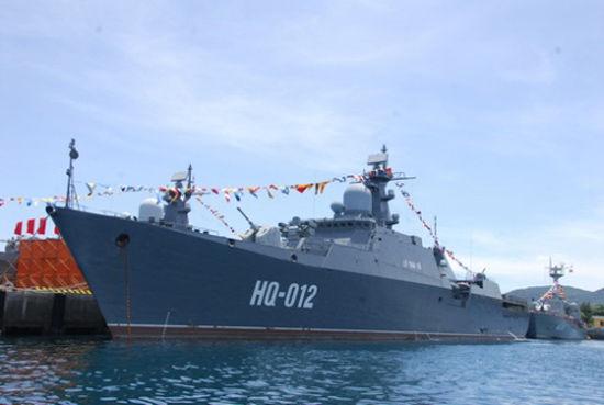 越南海军装备的最新型俄制猎豹3.9级轻型导弹护卫舰