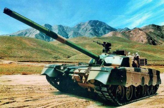 资料图:中国已经出口国外的MBT-2000型主战坦克