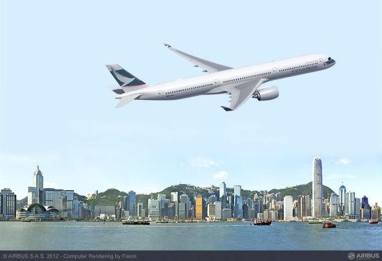 国泰航空A350-1000