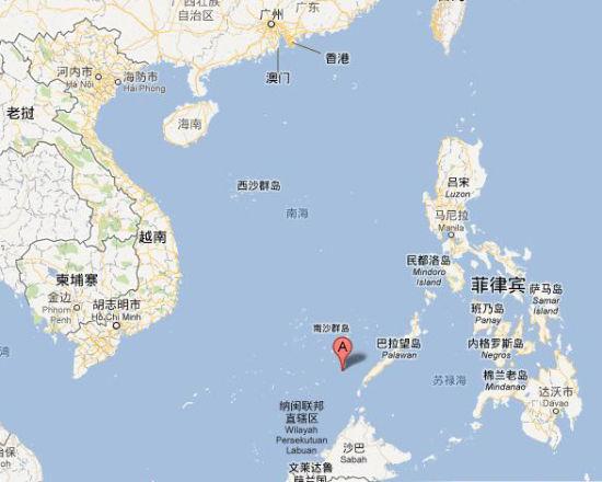 资料图:半月礁地理位置示意图