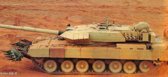 印度国产阿琼MK2主战坦克