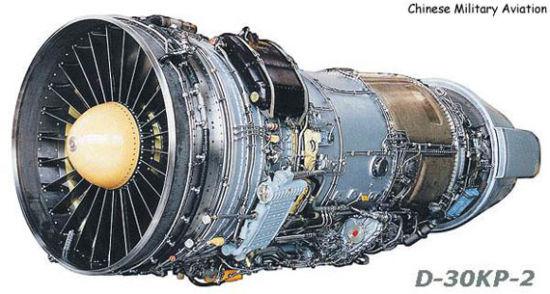 资料图:俄制D-30KP-2发动机