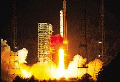 资料图:中国发射第16颗北斗卫星