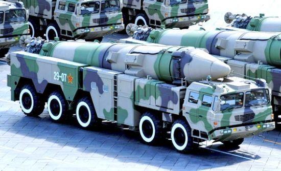 东风-21C中程导弹