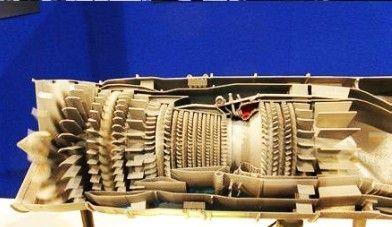 资料图:美军下一代发动机模型。