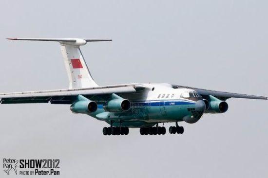 中国空军装备的伊尔76军用运输机