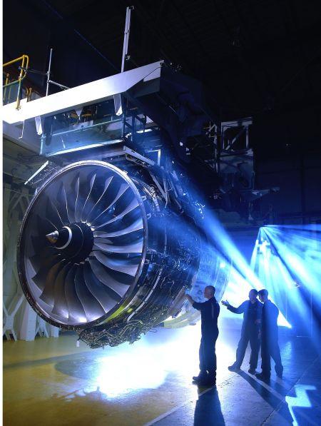 罗尔斯罗伊斯遄达1000用于波音787