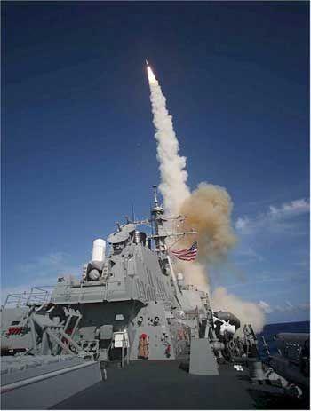 即使只有一个基本的导弹防御系统,美国可以先发制人攻击俄罗斯或中国的导弹发射井和潜艇舰队以减少有效报复的恐惧;余下的一些俄罗斯或中国的核导弹将无法完成一次破坏性的反击