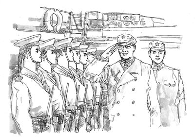 海军简笔画图片大全