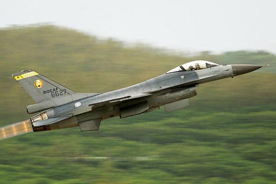 资料图:台军装备的F-16战机