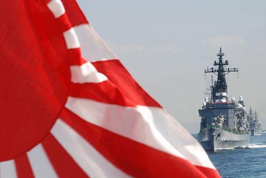 资料图:日本海上自卫队阅舰式。