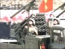 24管轻型火箭炮车
