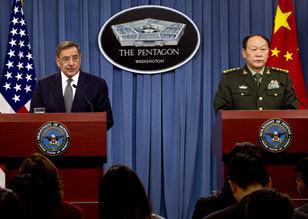 梁光烈宣布中美年内将举行反海盗演习